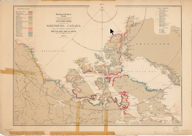 Reproduction d'une carte ancienne