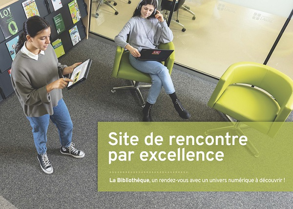 Publicité de la Bibliothèque